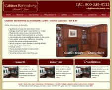 Cabinet Refinishing by Kenneth C Lewis
